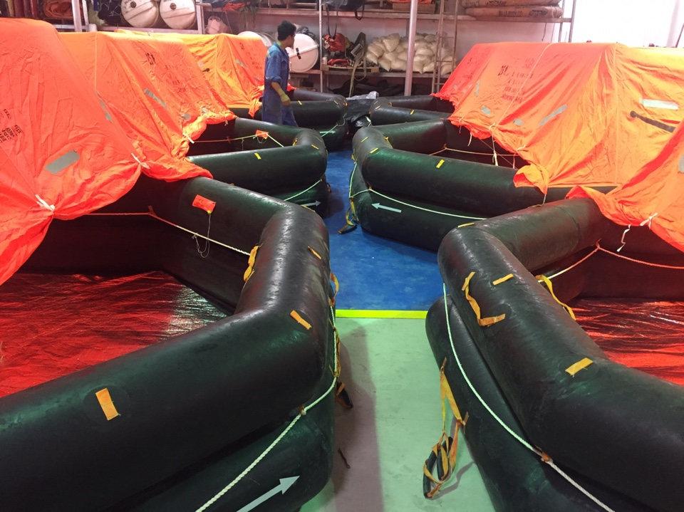 SERVICES LIFERAFT